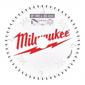 Milwaukee Rundsavklinge Alu190x30x2,4x54 - 4932471303