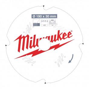 Milwaukee Rundsavklinge FC190x30x1,8x4d - 4932471304