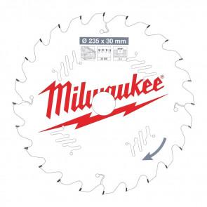 Milwaukee Rundsavklinge W235x30x2,4x24 - 4932471305