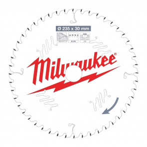 Milwaukee Rundsavklinge W235x30x2,4x48 - 4932471307