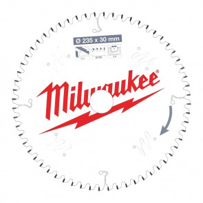 Milwaukee Rundsavklinge Alu235x30x2,4x60 - 4932471309