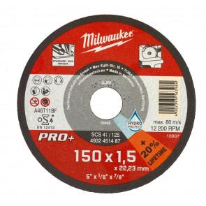 Milwaukee Skæreskive Metal SCS41/150x1,5 Pro+ 4932471386