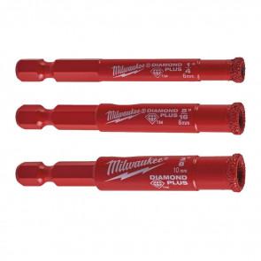 Milwaukee Diamantborset 6-8-10mm 1/4HEX - 4932471771