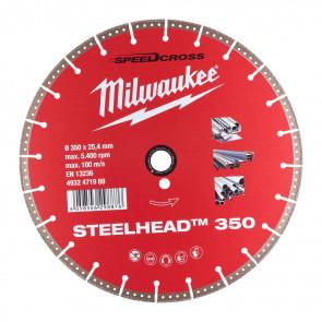 Milwaukee Diamantskive DH Steel Head 350 - 4932471988