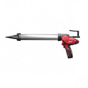 Milwaukee kompakt fugepistol med 600ml aluminiumsrør
