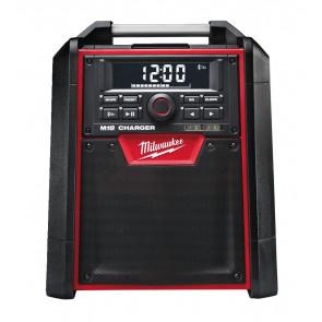 Milwaukee arbejdsradio & lader M18 RC-0 med Bluetooth - 4933446639
