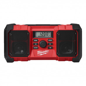 Milwaukee arbejdsradio med AM/FM-tuner M18 JSR-0 - 4933451250