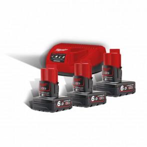 Milwaukee Batteri Startsæt M12 NRG-603 4933459208