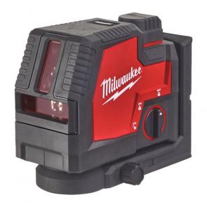 Milwaukee USB-opladelig krydslaser - Grøn - L4 CLL-301C - 4933478098