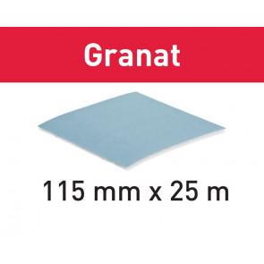 Festool Slibemateriale på rulle GRANAT SOFT P400 115x25M - 497096