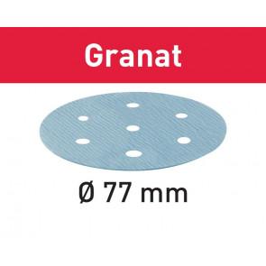 Festool Slibepapir STF D77/6 P500 GR/50 497413