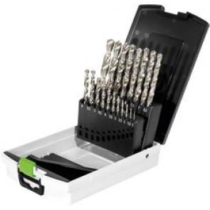 Festool Borkassette HSS D 1-10 Sort (1-10mm) | 19 stk - 498981
