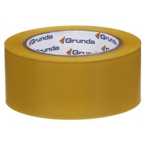 Grunda beskyttelsestape mønstret gul 50 mm x 33 m