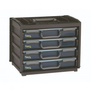 Raaco HandyBox 55x4 - Sort - 50136242