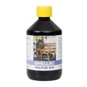 Borup Kemi shellac politur 3510, 1/2 L - 5035100.5