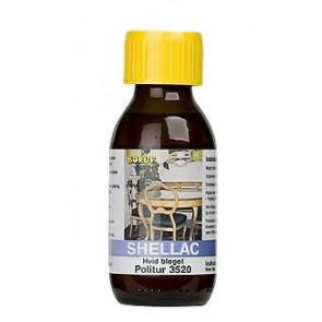 Borup Shellac Politur 3520 i 1/2 Liter - bleget - 5035200.5