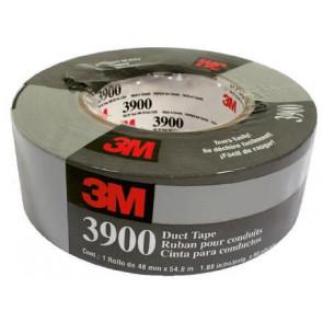 3M Lærredstape 3900 sølvgrå 48 mm x 55 m (gaffatape) - 563939