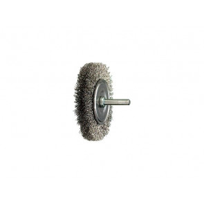 Luna Roterende stålbørste med 6 mm skaft 56945405