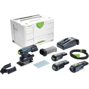 Festool Akku rystepudser RTSC 400 Li 3,1 I-Set 18V Bluetooth - 575724