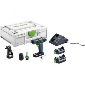 Festool Akku bore-/skruemaskine TXS 2,6-Set i Systainer3 - 576102