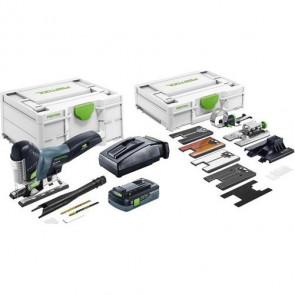 Festool Akku stiksav PSC 420 HPC 4,0 EBI-Set CARVEX i Systainer3 - 576523