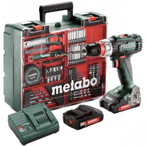 Metabo BS18LQUICK sæt borer-/skruemaskine - 602320870