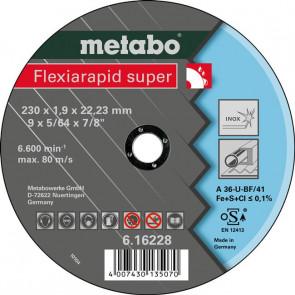 Metabo Skæreskive Flexiarapid super 230x1,9x22,23
