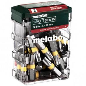 Metabo BitsboksT30,SP,25dele - 626716000