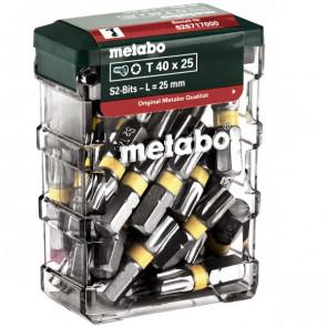 Metabo BitsboksT40,SP,25dele - 626717000