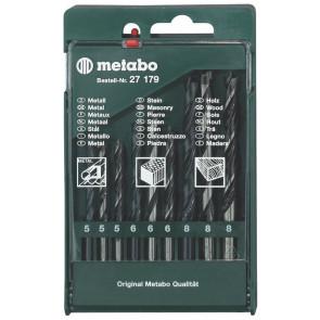 Metabo Borkassette 9 dele (til træ/sten/metal) - 627179000