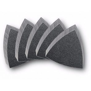 Fein Slibepapir uden huller pk á 50 stk med 5 forskellige kornstørrelser 63717082033