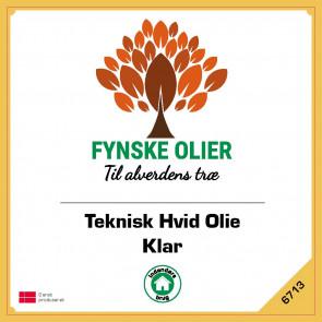 Fynske Olier Teknisk Hvid Olie - Klar 5 Liter 6713 - 6713005