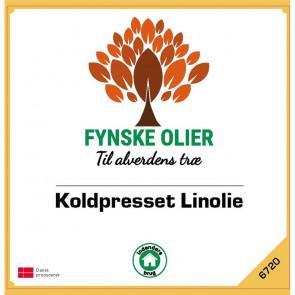 Fynske Olier Koldpresset Linolie 25 Liter 6720 - 6720020