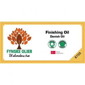 """Fynske Olier Finishing Oil - """"Danish Oil"""" 0,5 Liter 6735 - 673500050"""