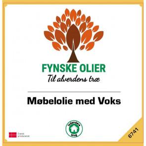 Fynske olier Møbelolie med voks 1 Liter 6741