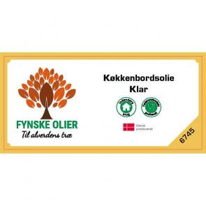 Fynske Olier Køkkenbordsolie - Klar 0,5 Liter 6745 - 674500050