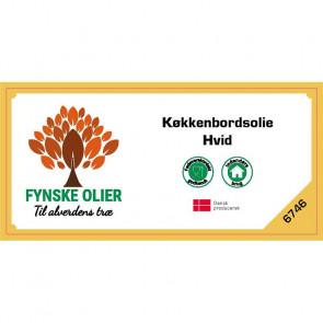 Fynske Olier Køkkenbordsolie - Hvid 0,5 Liter 6746 - 674600050