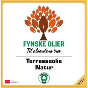 Fynske Olier Terrasseolie - Natur 1 Liter 6771 - 6771001