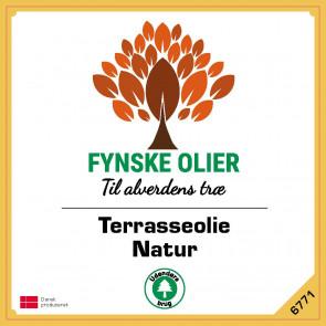 Fynske Olier Terrasseolie - Natur 25 Liter 6771 - 6771025