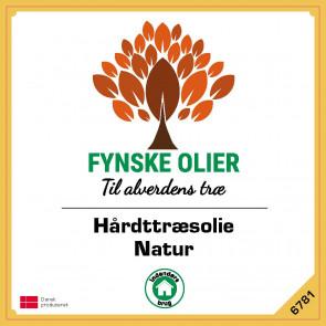 Fynske Olier Hårdttræsolie - Natur 1 Liter 6781 - 6781001
