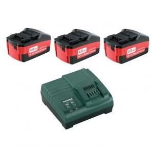 Metabo Akku Batteri Basis Sæt 4.0 Ah 18V + Oplader 685049000