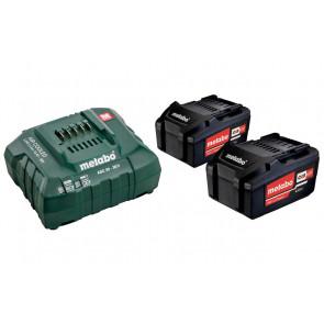 Metabo Basissæt 2x4,0 ah Lipower + ASC55 - 685050000