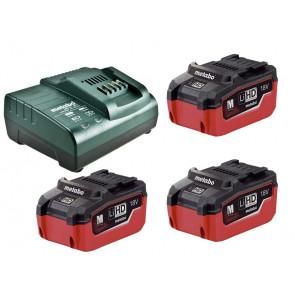 Metabo Batteri Basis-Sæt (5,5 Ah 18V LiHD) + Oplader (ASC 30-36) 685074000