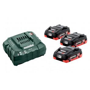 Metabo Batteri-Basissæt 3x LiHD 18V 4,0Ah 685132000