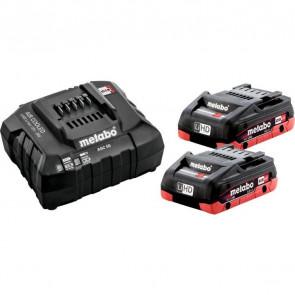 Metabo Basis batterisæt 2 x LiHD 4Ah SE - Black Edition - 685191000