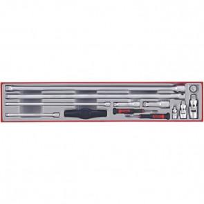 Teng Tools forlængerstykker i sæt TTXEXT13 med 13 dele - 68870104