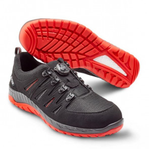 ELTEN Maddox BOA® Black-Red Low S3 sort 44 - 729151-44