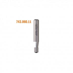 CMT Profilfræser HM 6x6 7° K6 - 743.060.11