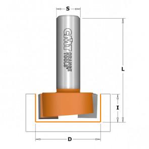 CMT Overfræsebor HM 31,7x12,7 K12  - 901.817.11