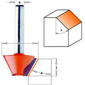 CMT Fasfræser HM 27x9,0 45° K8 - 905.240.11